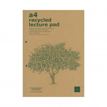 Recycled Lecture Pad