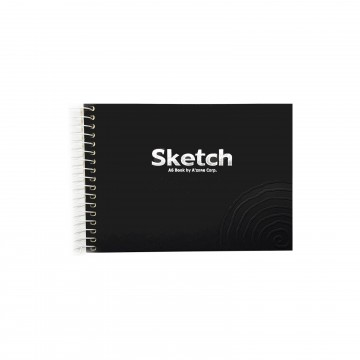 Sketch Spiralbook - A6 (Colours)